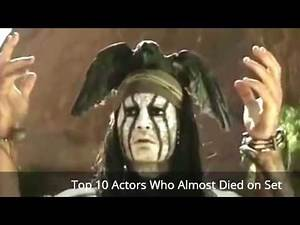 Top 10 Actors Who Almost Died on Set