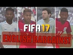 TOP 20 ENGLISH BARGAINS | FIFA 17 Career Mode