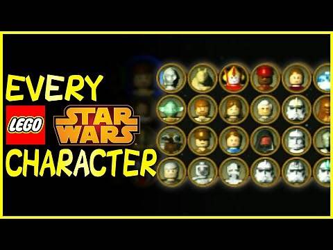 EVERY CHARACTER in LEGO Star Wars: The Video Game (2005)