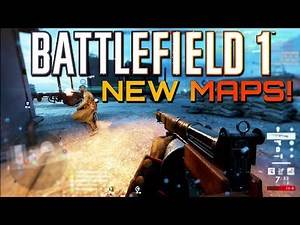 Battlefield 1: Two New Maps coming to Turning Tides DLC! (4K PS4 PRO Multiplayer Gameplay)