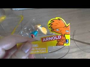 Hey Arnold! Figure (with Abner)