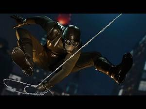 Spider-Man: Stealth Takedowns - Noir Suit - Night and Day Stealth Gameplay