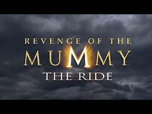 16th Anniversary Revenge of the Mummy The Ride at Universal Studios Hollywood