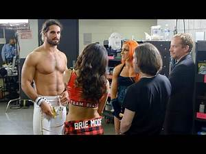 Seth Rollins turns heads backstage with white gear at SummerSlam 2015: WWE Day Of sneak peek