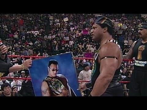 The Rock gives The Nation of Domination gifts: Raw,