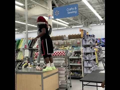 Wrest-Aisle-Mania: Friends Turn Walmart Into Wrestling Ring