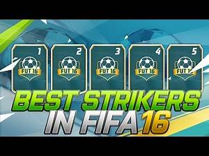 Best & Most Overpowered Strikers (ST) in FIFA 16 (Expensive & Cheap) / Most Effective & Dangerous