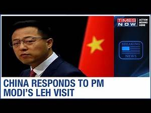 Chinese spokesperson provocateurs over PM Modi Expansionist attack