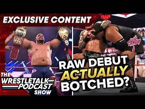 Was Keith Lee's Raw Debut ACTUALLY BOTCHED? Luke Owen & Adam Blampied - WrestleTalk Clips EXCLUSIVE
