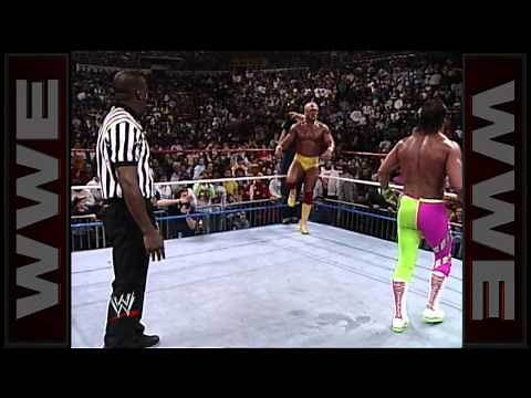 Hulk Hogan vs. Randy Savage - WWE Championship Match: Main Event, February 23, 1990