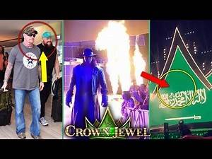 WWE Crown Jewel 2018 : LEAKS ! PYRO ! Stage Design WWE Crown Jewel 2018 Highlights Results