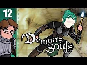 Let's Play Demon's Souls with Wanderbot Part 12 - Flamelurker and Dragon God Boss Fight