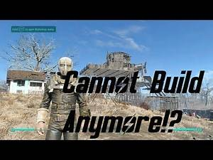 Fallout 4 | I Reached Build Limit Already!?
