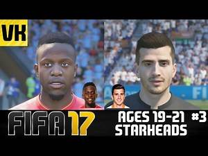 FIFA 17: YOUNG PLAYERS REAL FACES/STARHEADS AGED 19 -21 (Origi, Gnabry, Gaya + more) #3