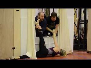 THE PLAY THAT GOES WRONG Fight Choreography