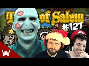 SLEEPING WITH VOLDEMORT! (Town of Salem DUO CAM w/ Ze & Chilled Ep. 127)