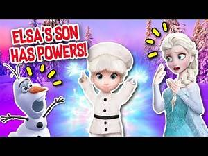 FROZEN 2 ❄️ ELSA'S SON TURNS INTO A VILLAIN 😱 He has ICE POWERS!