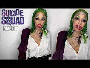 Suicide Squad Joker Makeup Tutorial | Bellas Beauty
