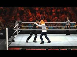 WWE 2K14 James Hetfield Vs. Dave Mustaine
