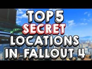 Top 5 SECRET Unmarked Locations in Fallout 4