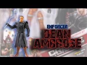 WWE FIGURE INSIDER: Dean Ambrose (Enforcer Set) - Create-a-Superstar (Large Pk) Toy Wrestling Figure