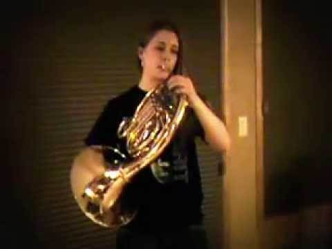 Taps - In honor of all who have served. Played on French Horn, Trigger Open.