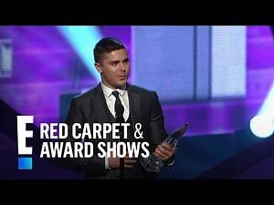 The People's Choice for Favorite Movie Star Under 25 is Zac Efron | E! People's Choice Awards