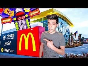 Won The Huge Arcade Jackpot at the World's Largest McDonalds!