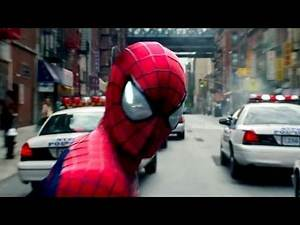 """Police Chase"" THE AMAZING SPIDERMAN 2 Film Clip # 3"