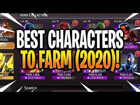 *NEW* BEST CHARACTERS TO FARM 2020! - DC Legends