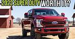 """2022 Ford Super Duty Revealed with Sync 4 12"""" Screen! Worth Upgrading or Waiting?"""