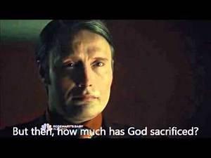 Hannibal - what god do you pray to ? FULL SCENE