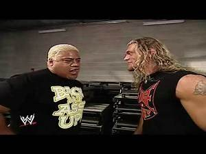 Rikishi tell Edge what the Stinkface meant for SmackDown 5 September 2002