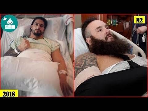 15 Shocking WWE Superstars Surgery Photos You Must See - Roman Reigns, Braun Strowman..