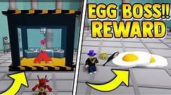 KING EGG BOSS!! (REWARD)   Build a boat for Treasure ROBLOX