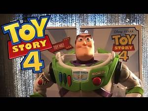 Toy Story 4 Karate Chop Action Buzz Lightyear Unboxing And Review!