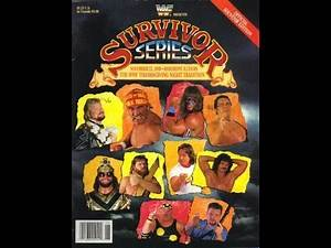 The Main Event: Survivor Series 1989