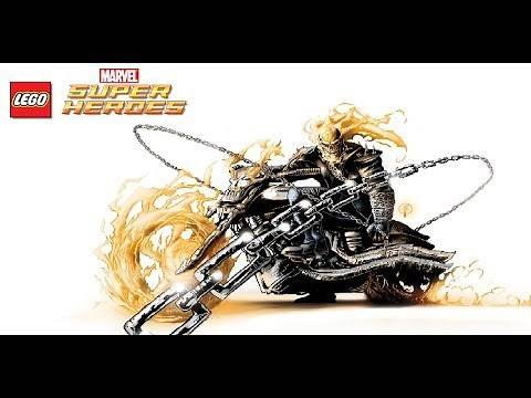 LEGO Marvel Super Heroes - Unlocking Ghost Rider's Motorcycle (All Ghost Rider Missions) Free Roam