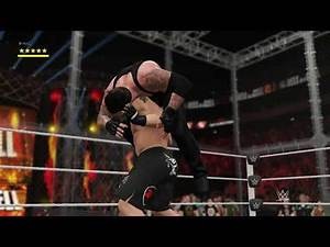 WWE Hell in a Cell 2015: Brock Lesnar vs The Undertaker (WWE 2K17)