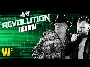 AEW Revolution Review | Wrestling With Wregret