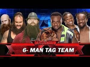 WWE Battleground 2016 - The Wyatt Family VS The New Day Full Match HD