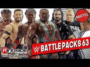 WWE FIGURE INSIDER: Mattel WWE Battle Packs 63!!!
