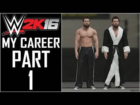 """WWE 2K16 - My Career - Let's Play - Part 1 - """"Character Creation"""" 