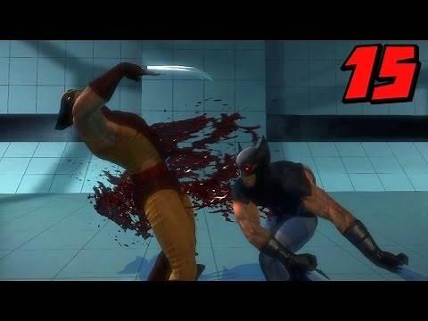 X-Men Origins Wolverine Walkthrough Part 15: Wolverine vs Wolverine