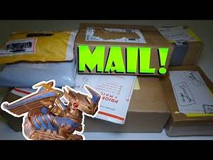 MAIL TIME! Packages from tetsubo57, Brittcraft, eBay, Nintendo of America