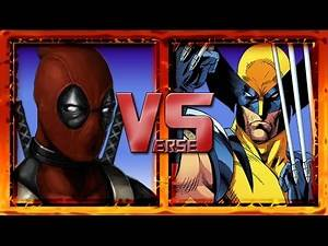 Deadpool vs Wolverine. Legendary Verses