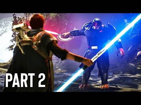 Star Wars: Jedi Fallen Order Gameplay Walkthrough, Part 2! (DOUBLE BLADED LIGHTSABER)