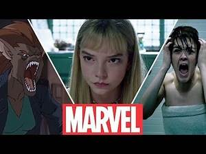 The New Mutants (2019) - Magik , Wolfsbane , Cannonball , Sunspot , Moonstar (Then and Now )