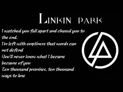 Linkin Park - Powerless - Lyrics
