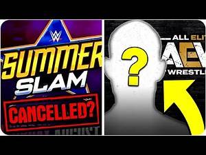 Legend Passes Away   AEW SIGN FREE AGENT   WWE SummerSlam To Be CANCELLED?!   Adam Cole UPDATE